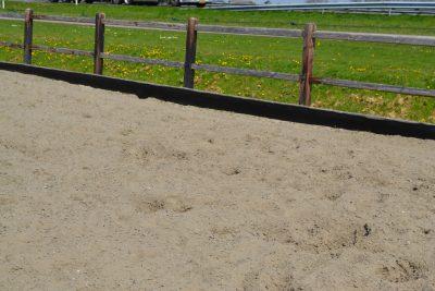 Rubber zandkering