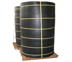 Hamerslag antislip rubber op rol