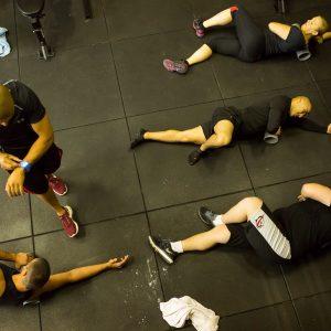 Rubber vloer voor Functioneel training