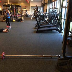 Fitnessvloer op rol