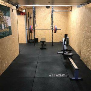 home gym rubber tegels