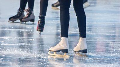 Rubber voor ijsbaan