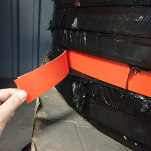 Afrasteringsband-oranje