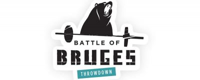 Battle of Bruges met Bos rubber crossfit vloer