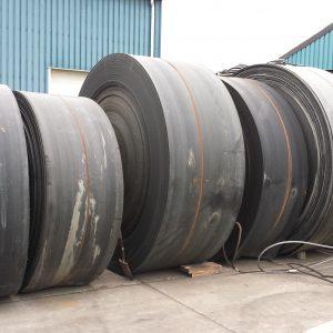 Transportband met nylon