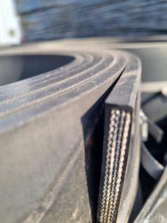 Rubber met nylon inlage